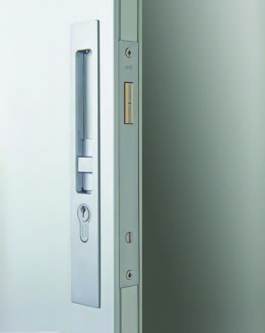 HB640 Series Narrow Sliding Door Lock   250mm