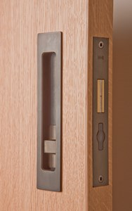 Sliding Door Hardware Hb 690 Privacy Lock 170mm Flush