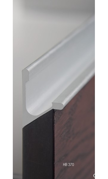 Sliding Door Handles >> HB370 Continuous Drawer Pull (Extruded Aluminium ...