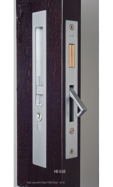 HB637 Sliding Door Lock  - 250mm