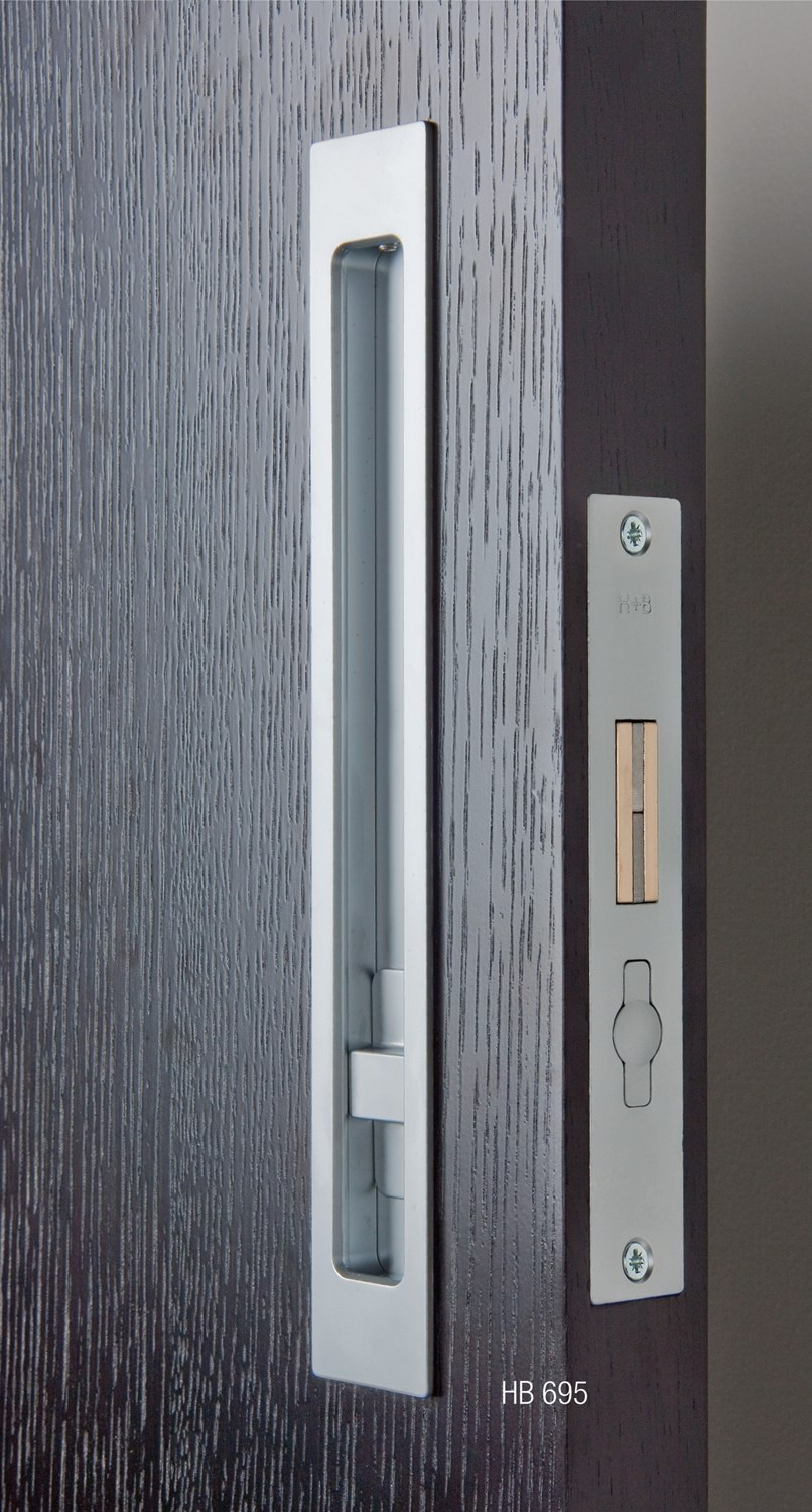Door latch pocket door privacy latch for Sliding door hardware