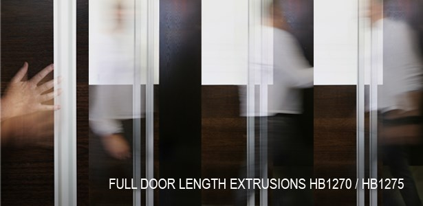 HB1270 and HB1275 Full Length Door Extrusion