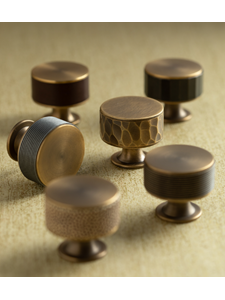NEW Stacked Barrel Cabinet Knobs