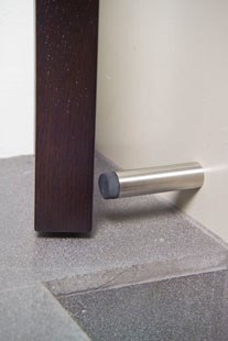 HB 740 Wall Mounted Stainless Steel Door Stop